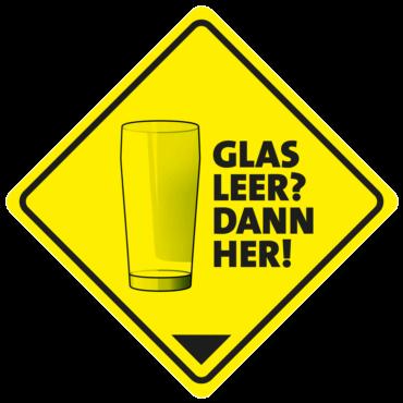 Logo Glas leer dann her | Gevelsberger Kirmes