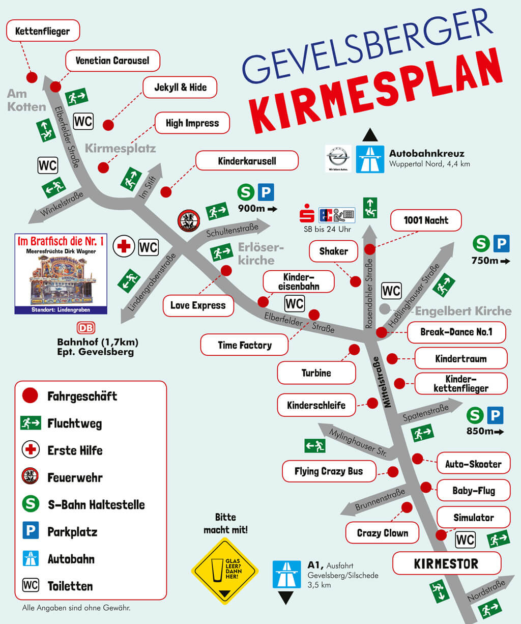 Gevelsberger Kirmes | Der Plan zur schrägsten Kirmes in Europa (PDF)